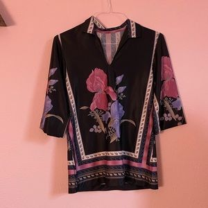 Vintage 70s Tunic Shirt